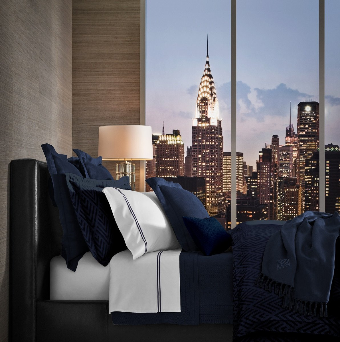 Bettgarnitur Penthouse Navy
