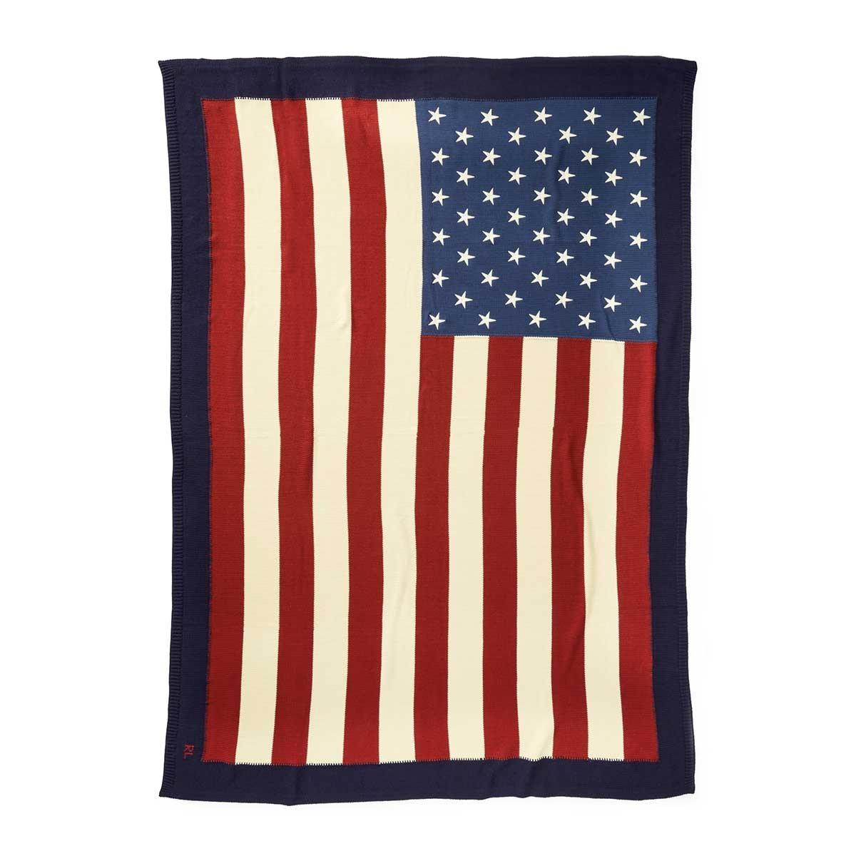 Plaid RL Flag Navy