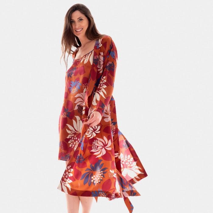Blomster 921150LT Long Kimono