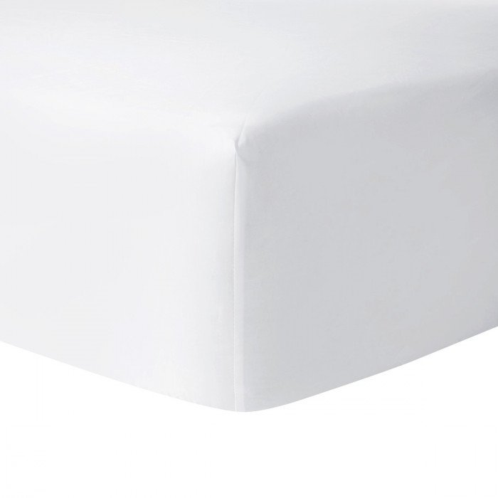 Roma Blanc Fitted Sheet