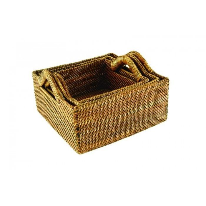 BAOLGI Square Basket 3P