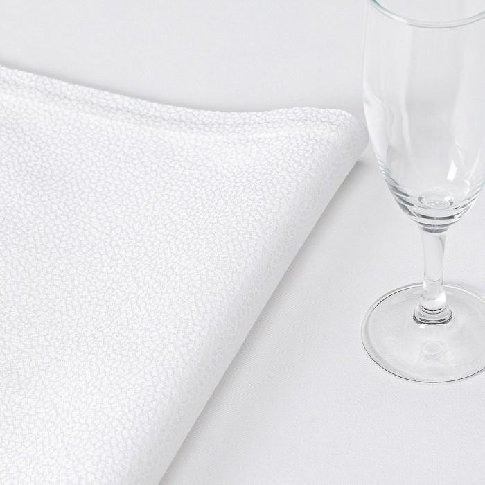 Serviette de table GALUCHAT Blanc