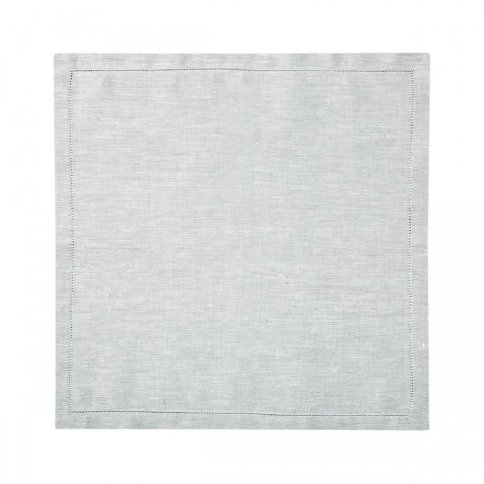 Serviette de table Liso Silver