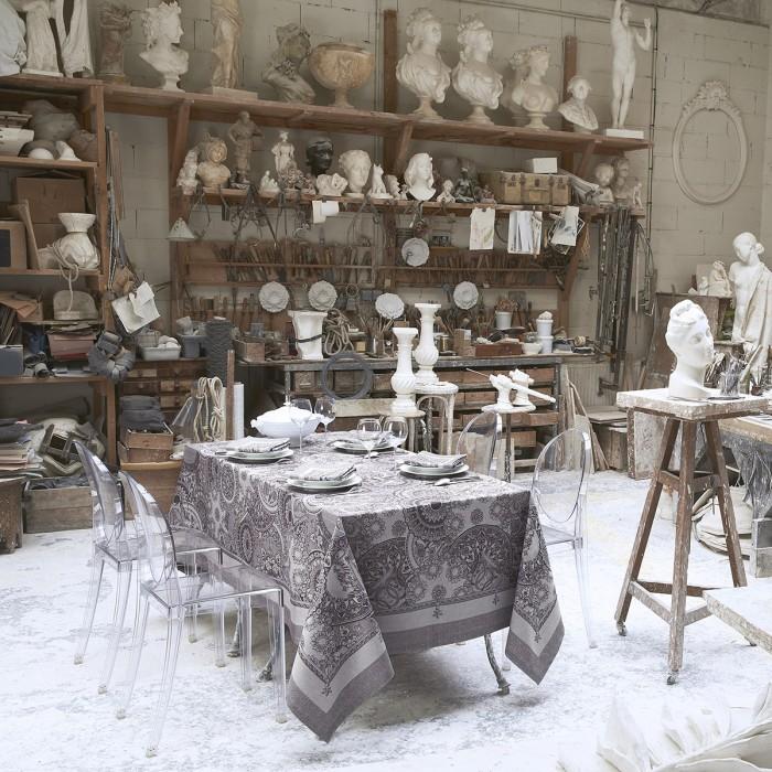 Nappe Porcelaine Kaolin