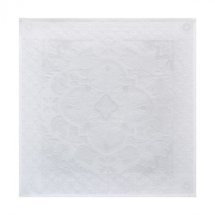 Serviette de table Azulejos Blanc
