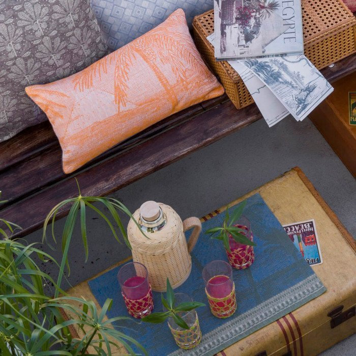 Set de table Croisière sur le Nil Palmier