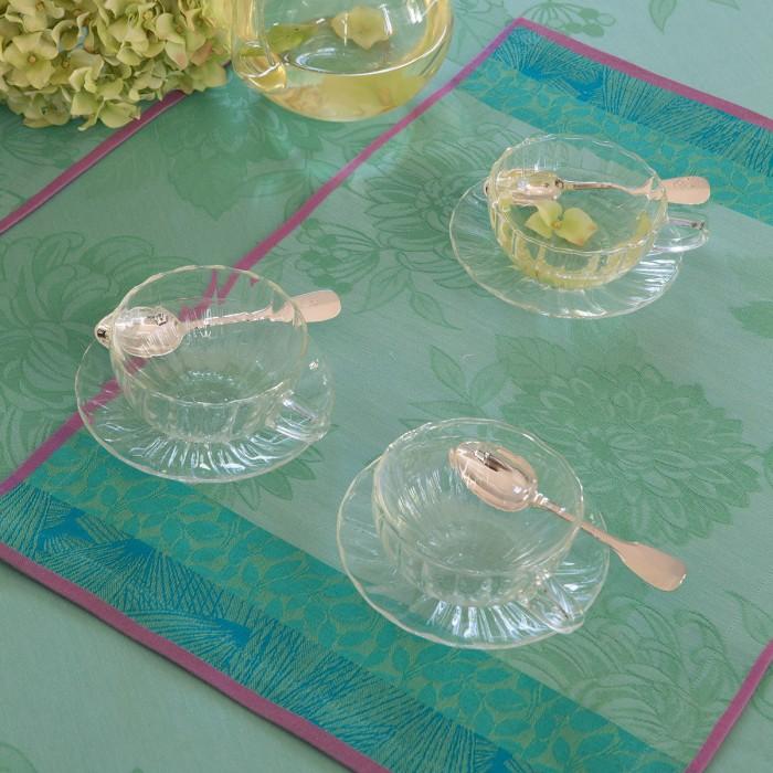 Set de table Parfums de bagatelle Hortensia