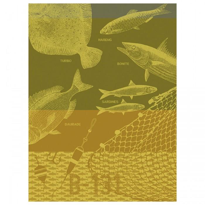 Torchon Pêche en mer Ciré
