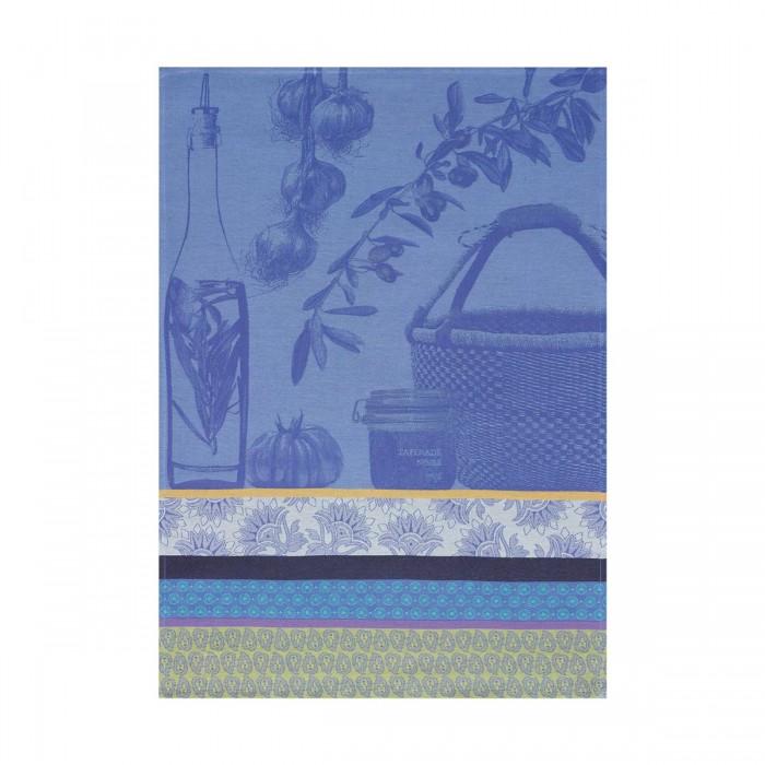Torchon Saveurs de provence Bleu lavande