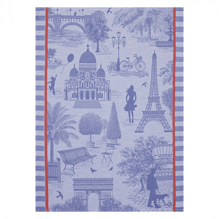 Torchon Toile de paris Myrtille