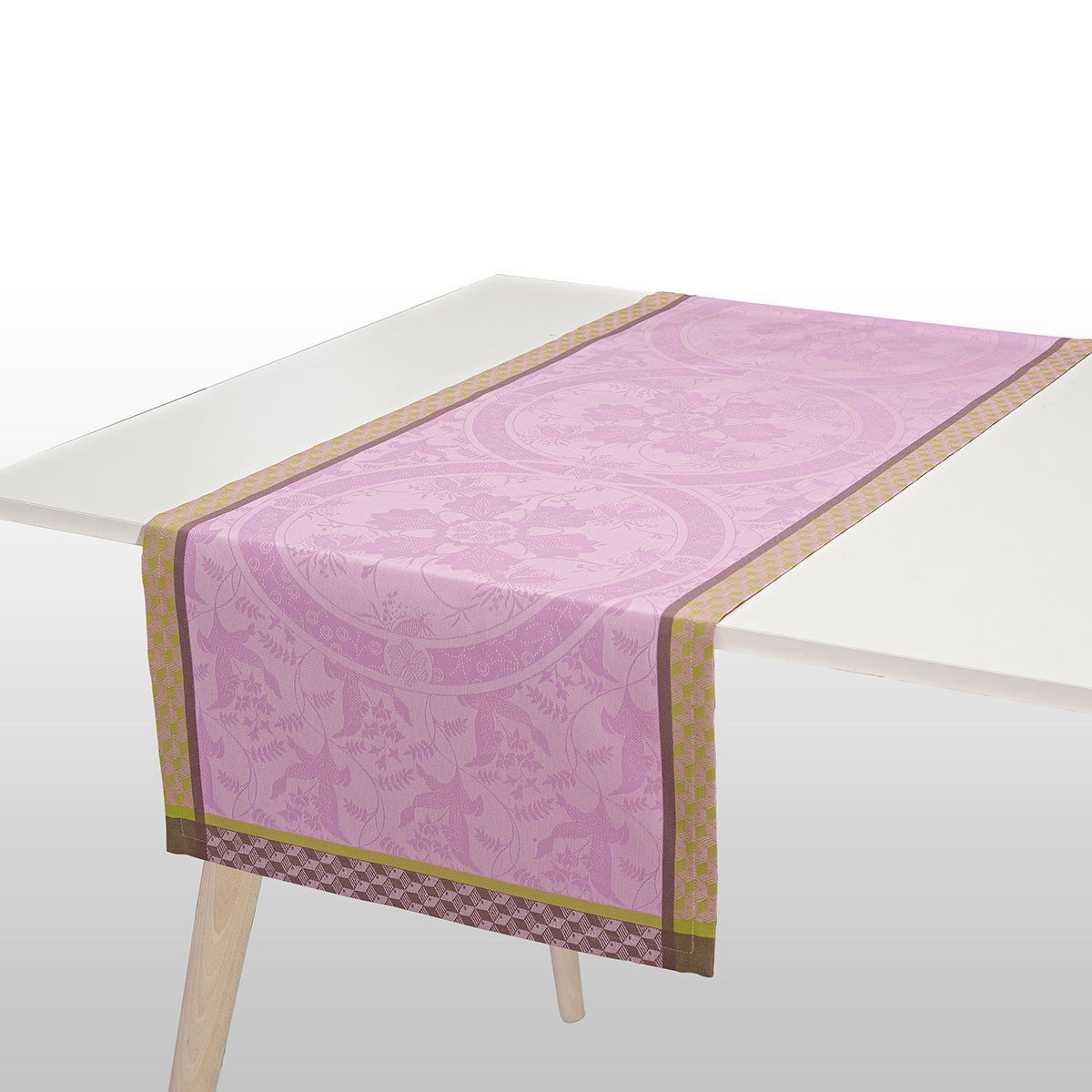 Chemin de table Duchesse Pivoine