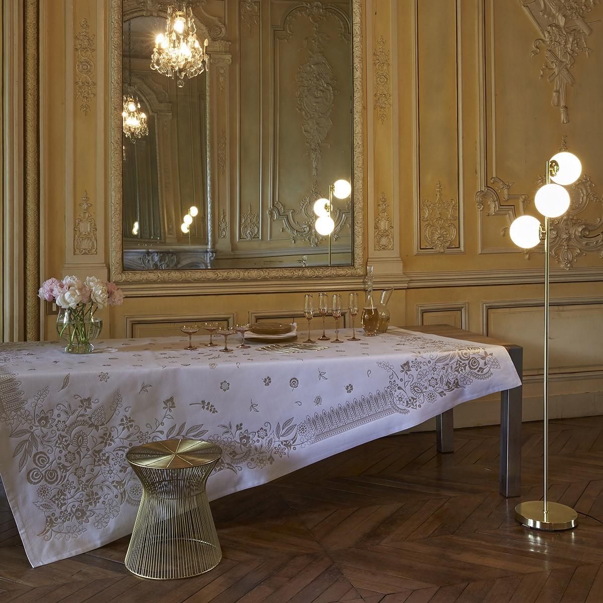 Nappe Haute couture Cristal Gold