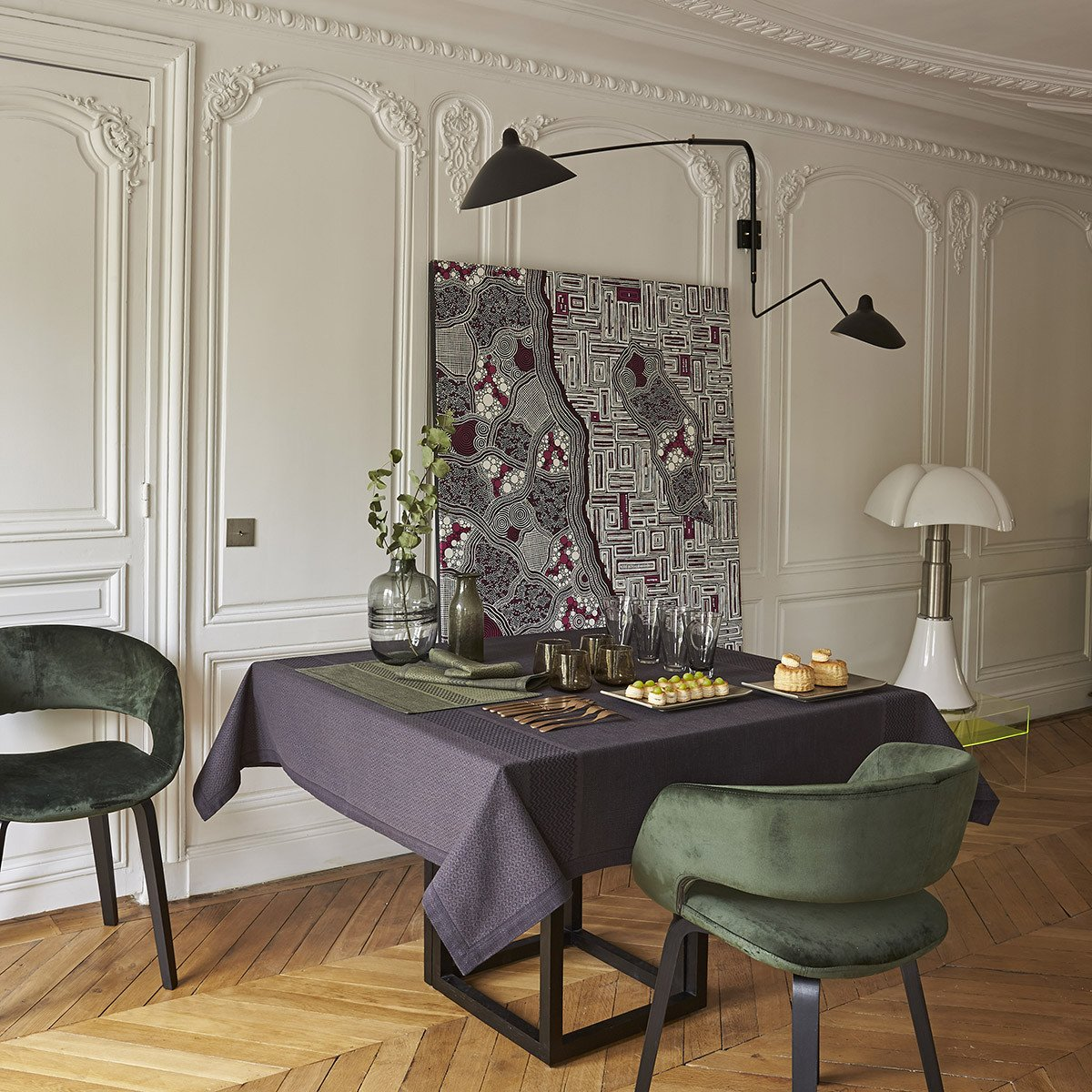 Nappe Slow Life Carbone