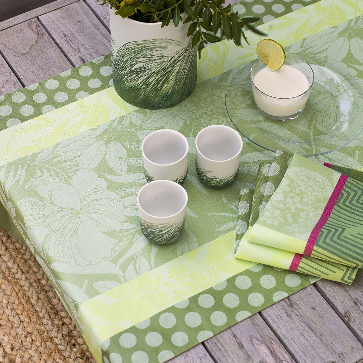 Serviette de table Nature Urbaine Gazon