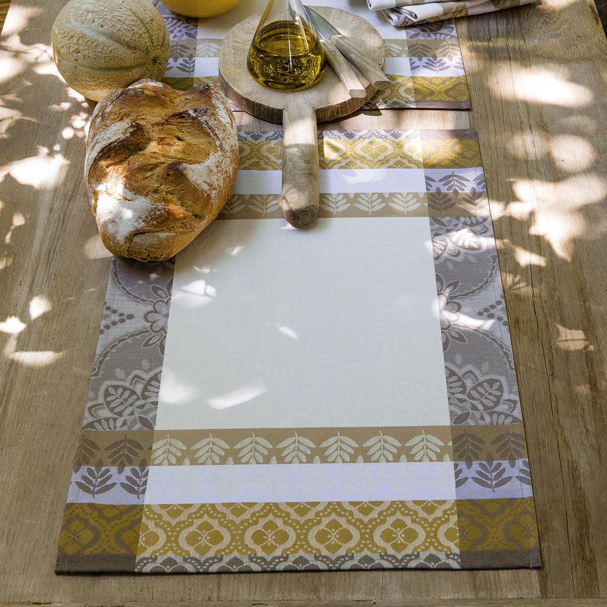 Set de table enduit Bastide Amande