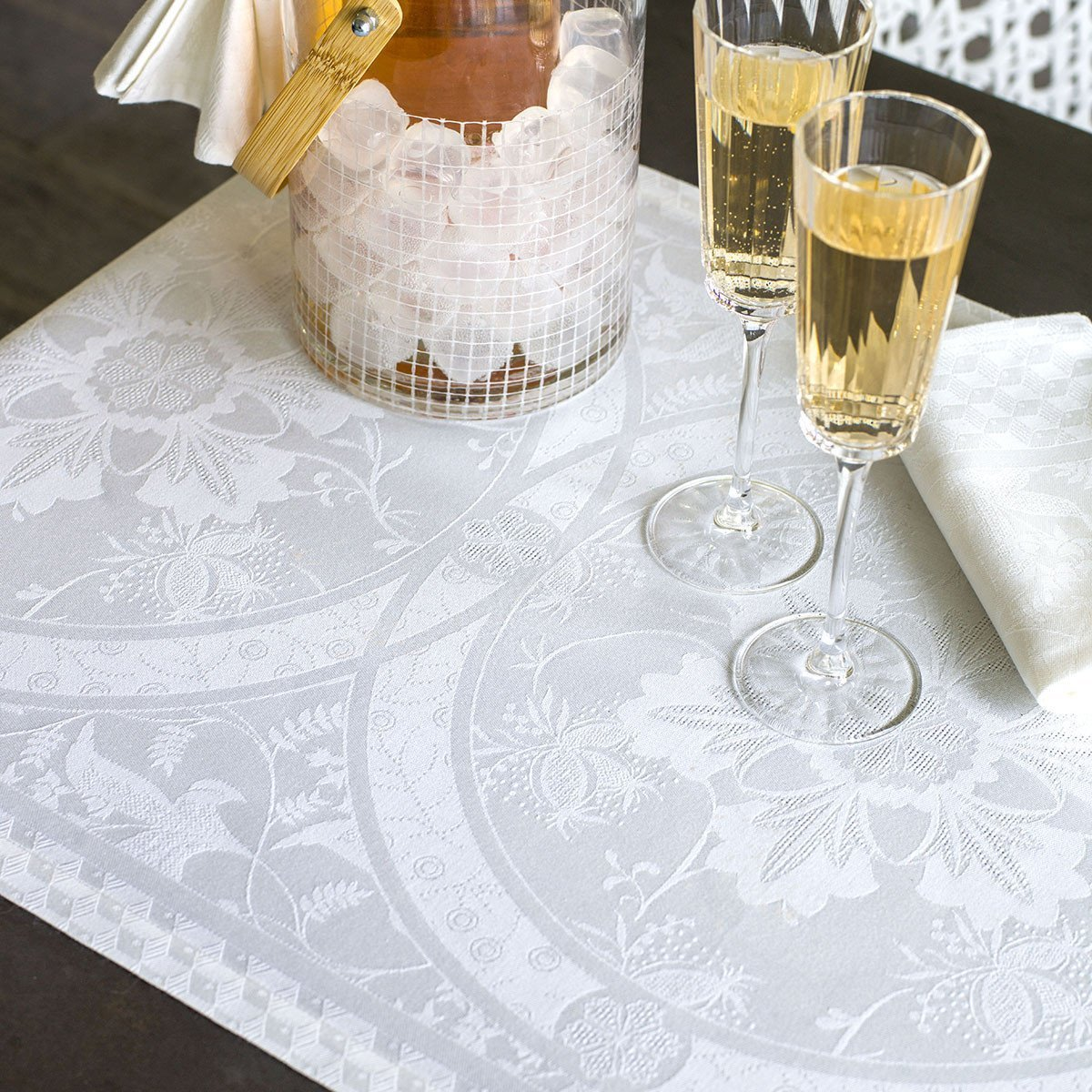 Set de table Duchesse Blanc