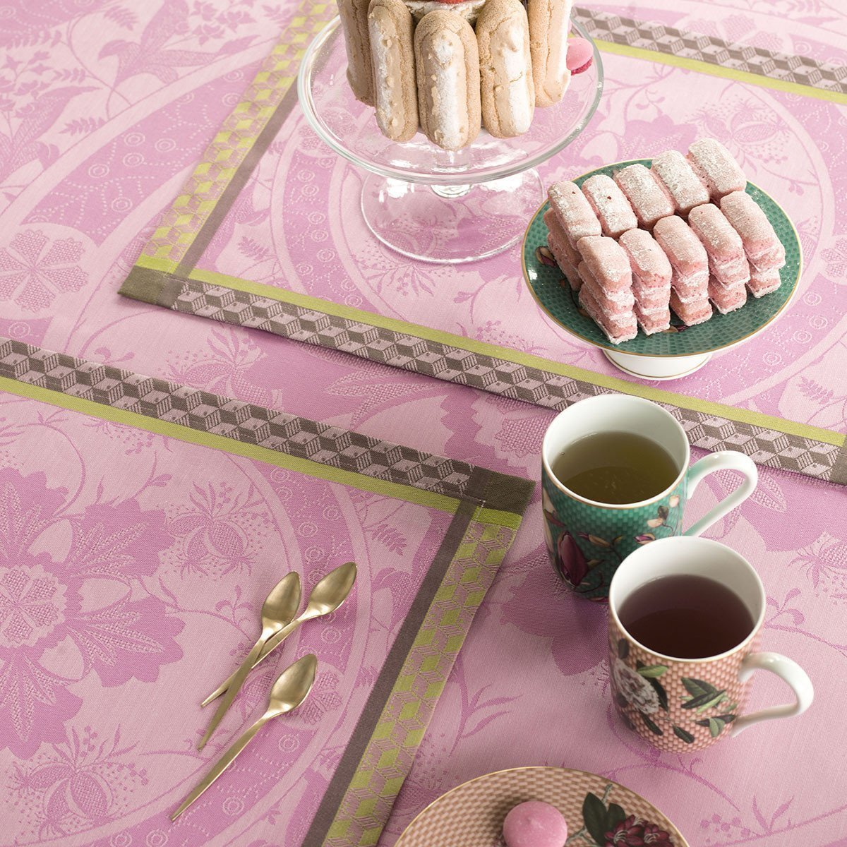 Set de table Duchesse Pivoine