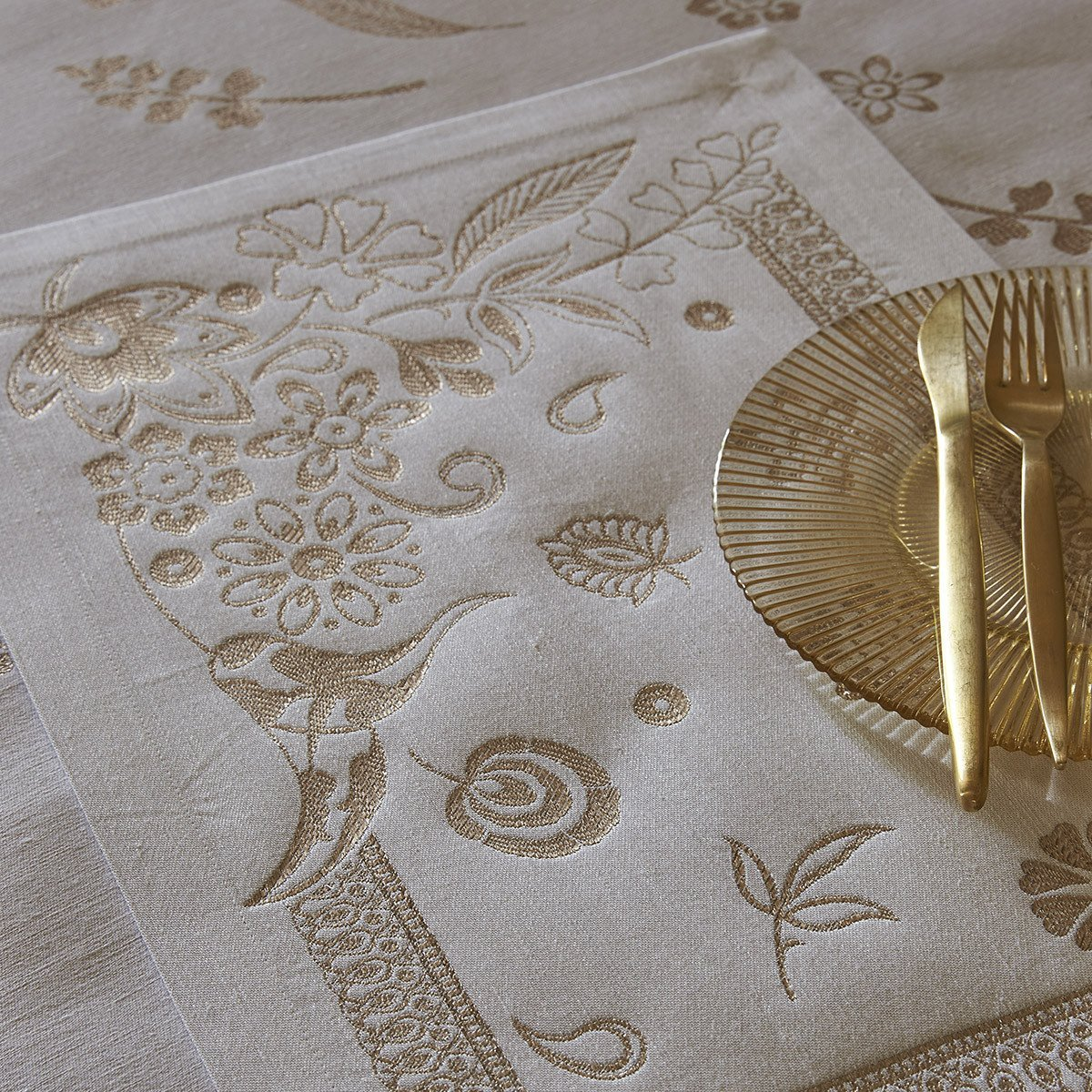 Set de table Haute couture Gold