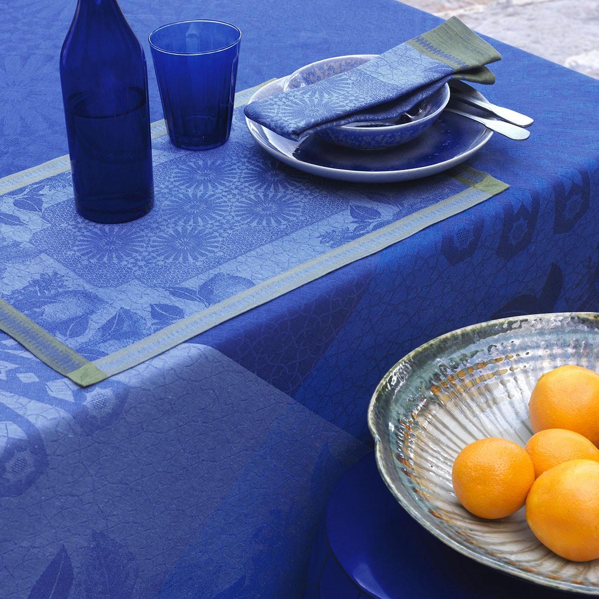 Set de table Jardin d'orient Majorelle