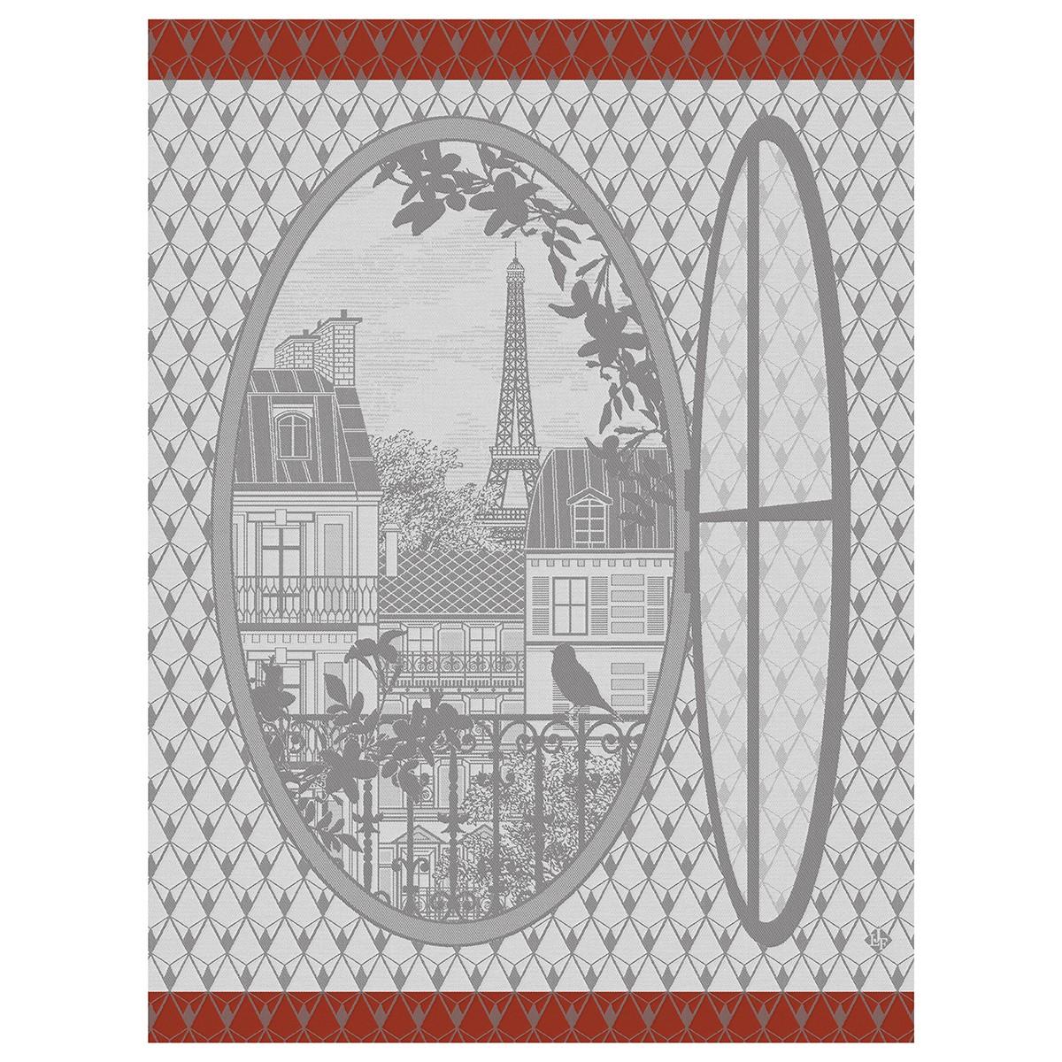 Torchon Fenêtre sur Paris Horizon