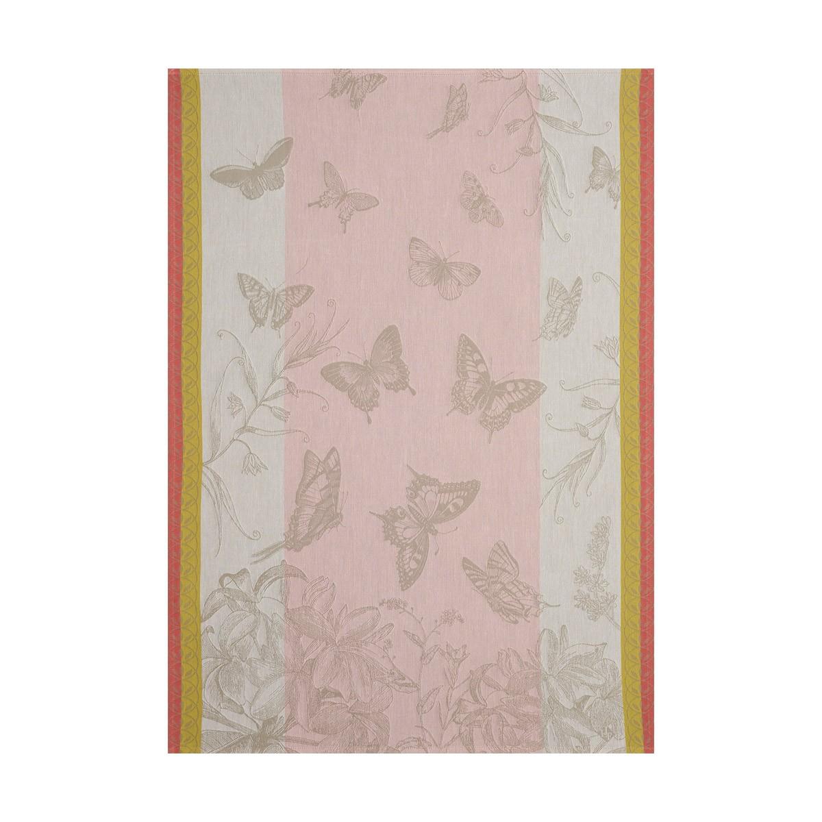 Torchon Jardin des papillons Magnolia