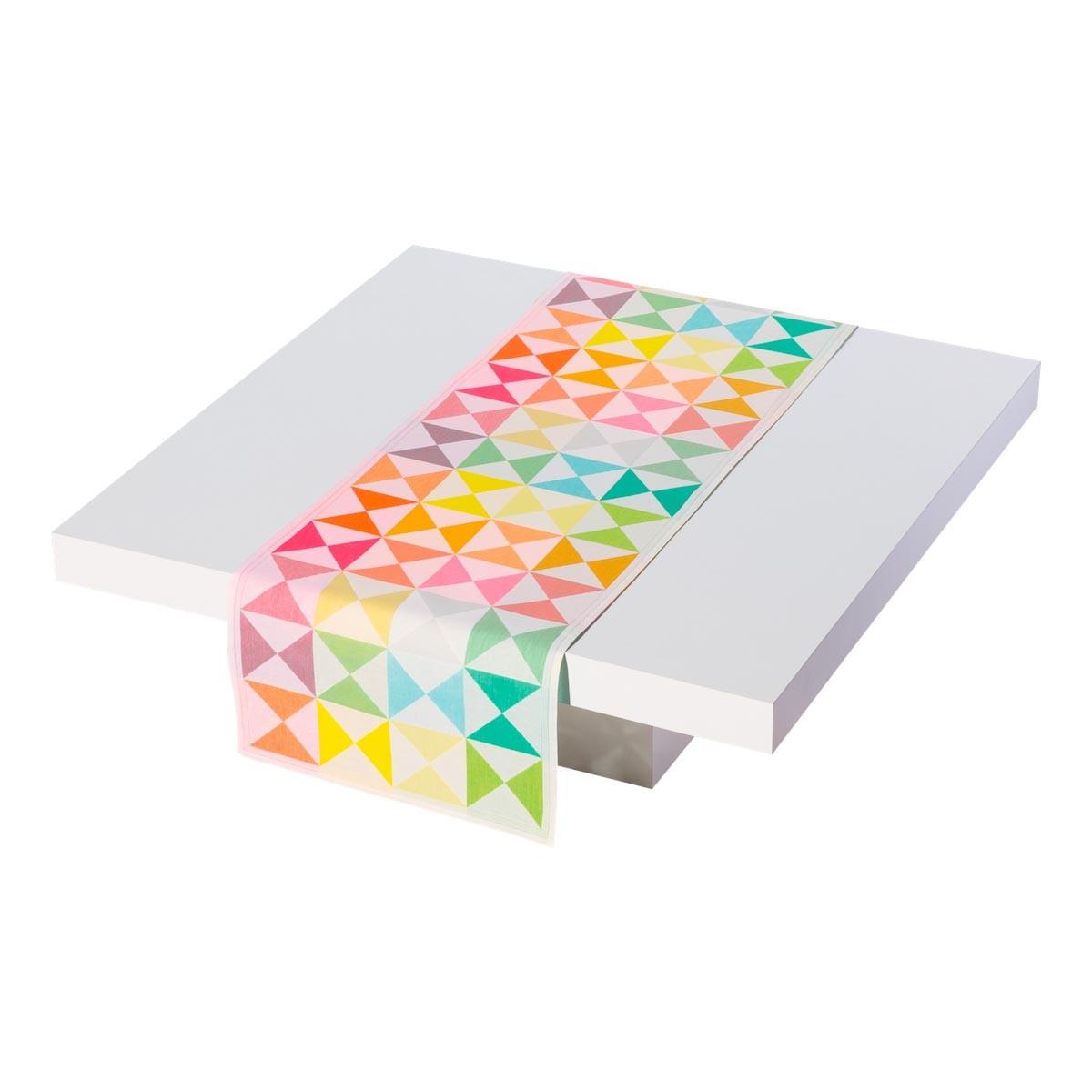 Chemin de table Origami Multico