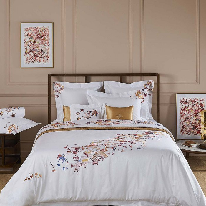 Yves Delorme Couture Automne Bed