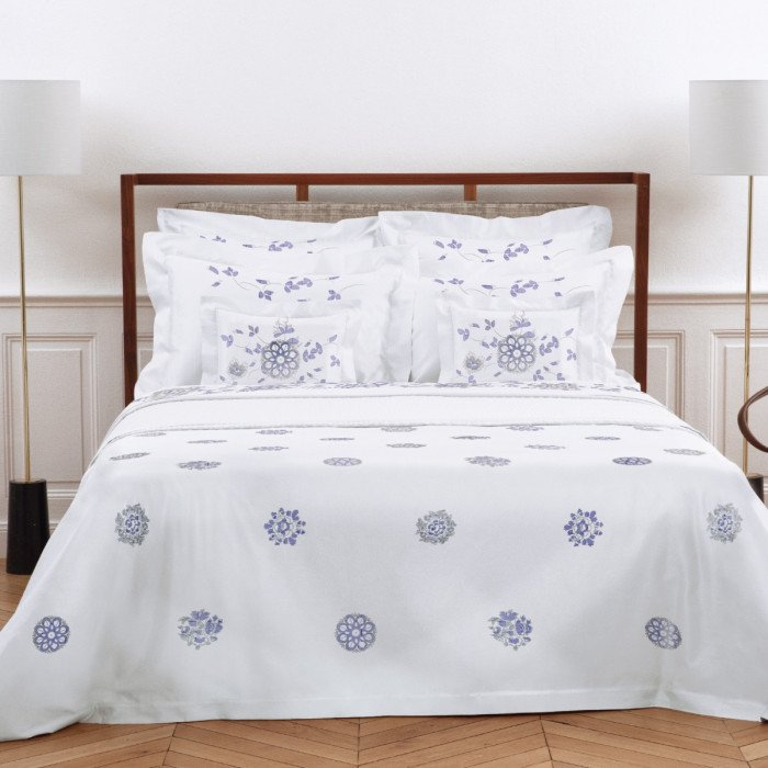 Yves Delorme Couture Delft Bed Linen Lifestyle