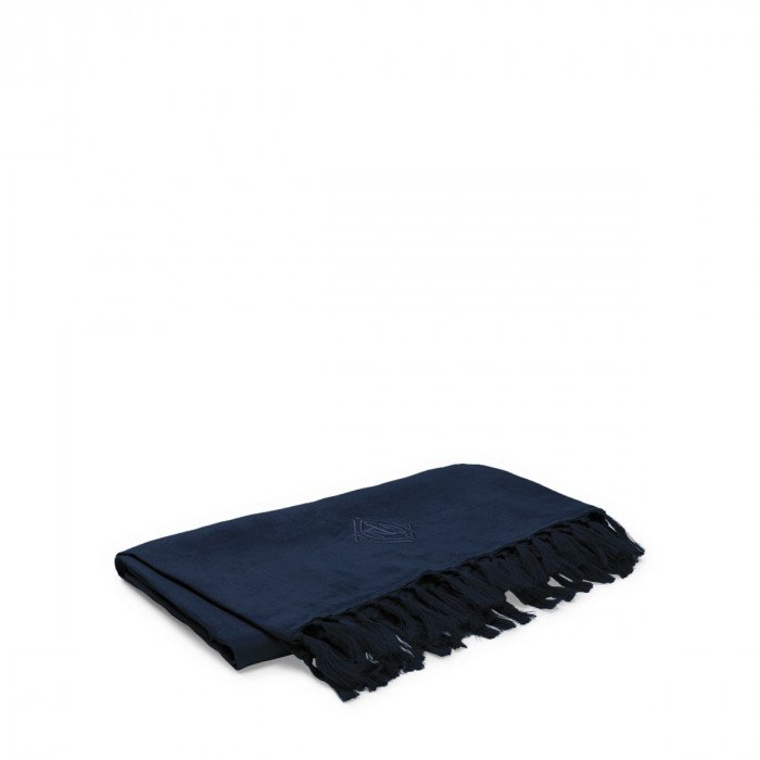 Ralph Lauren Penthouse Aldrich Navy Throw