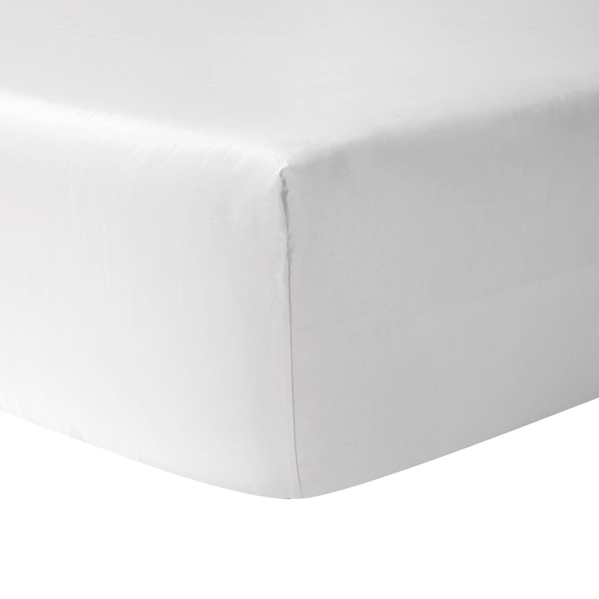 Fitted Sheet Roma Blanc